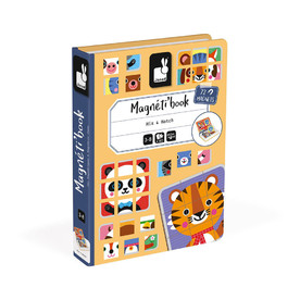 Magnéti'book Mix & Match Animaux, 72 magnets